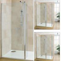 Deluxe10 900mm Wet Room Shower Screen 10mm Glass Walk-in Panel